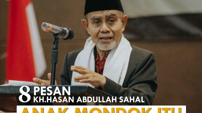8 Pesan KH Hasan Abdullah Sahal | Anak masuk pondok itu Rezeqi
